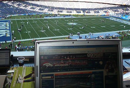 Qualcomm Press Box