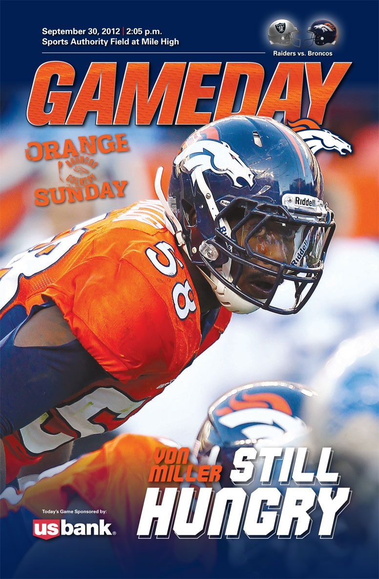 Gameday Preview: Von Miller on Cover