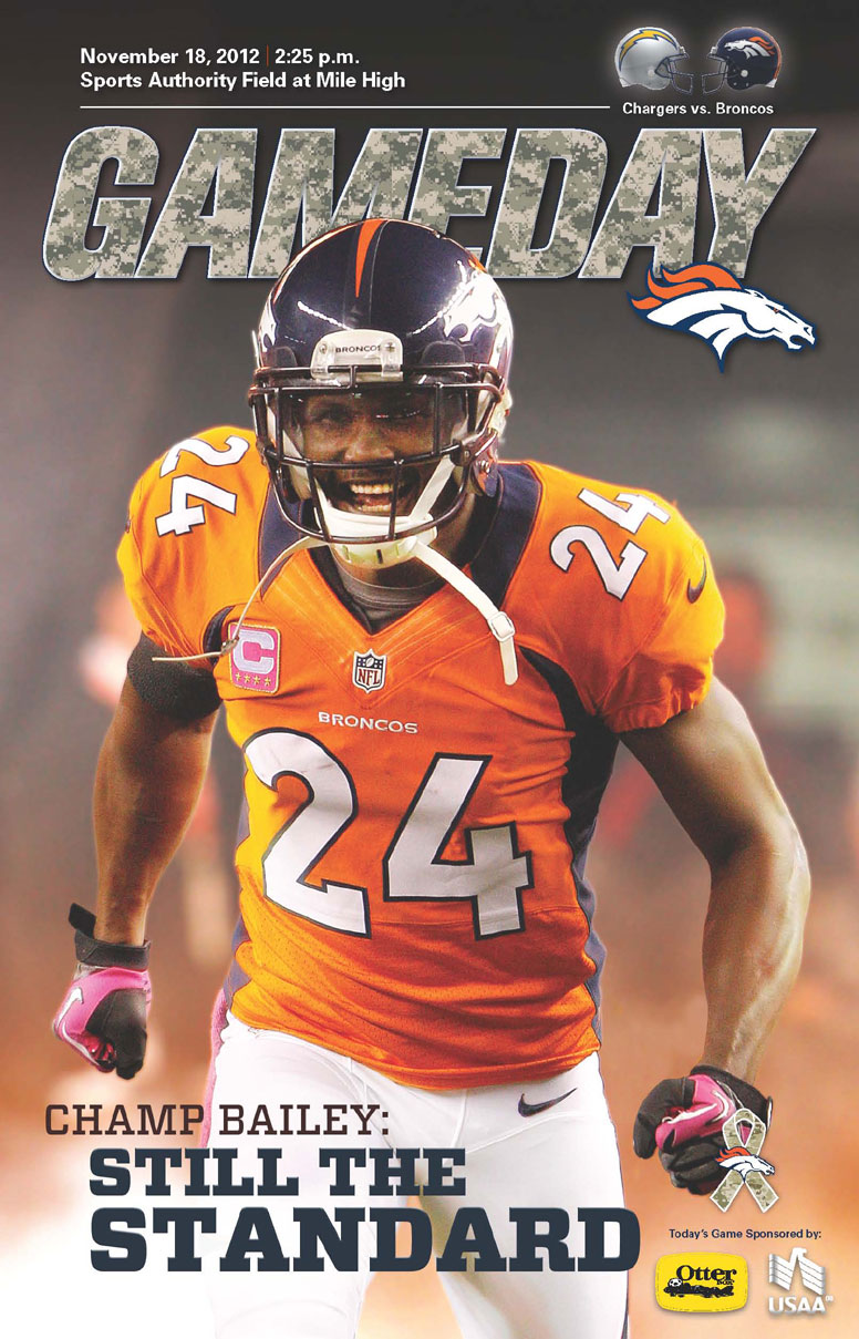 Gameday Spotlights Champ Bailey