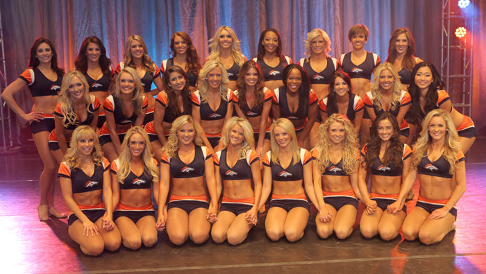 Meet Your 2013 Denver Broncos Cheerleaders
