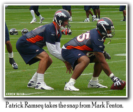 Patrick Ramsey and Mark Fenton